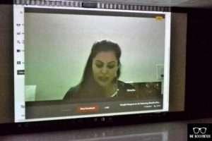 book launch by shradha khanna on Google Hangouts