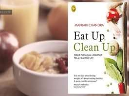 eat up, clean up by Manjari Chandra
