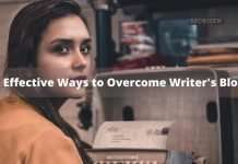 tips to overcome writer's block