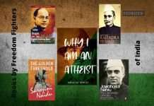 books by freedom fighters of India