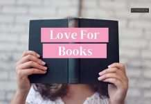 woman reading a book - love for books