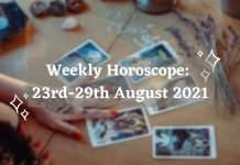 Weekly-Horoscope-23rd-29th-August-2021