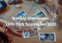 weekly-horoscope-13th-19th September 2021